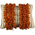 Decorative Pillow with Fringe