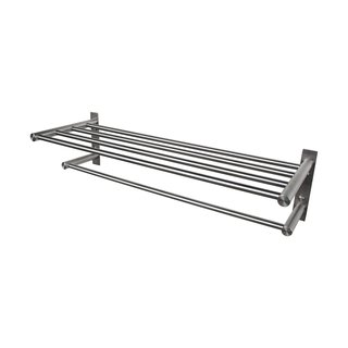 BOANN Solid Stainless Steel Towel Shelf Rack