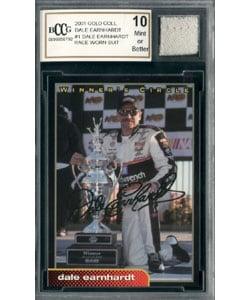 Dale Earnhardt Sr Race Worn Suit Mint 10 GGUM Card