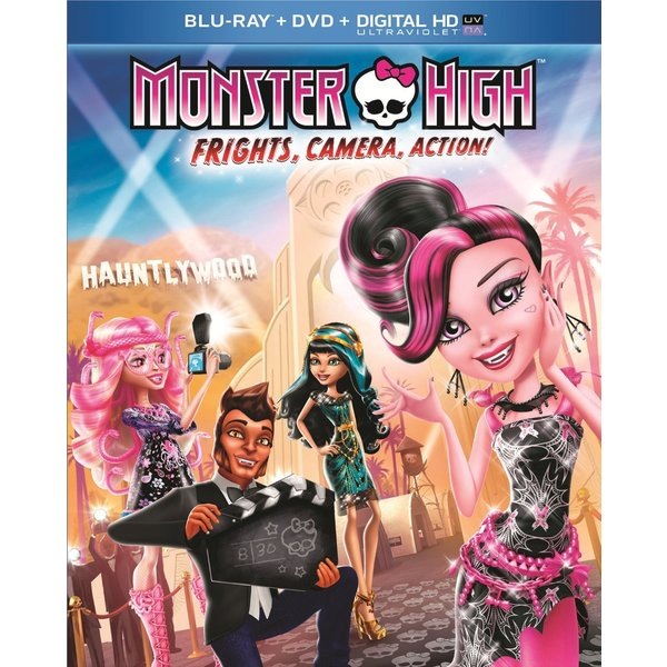 Monster High: Frights, Camera, Action! (Blu-ray/DVD) 12247770
