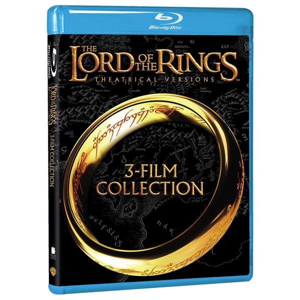 Lord of the Rings: Theatrical Trilogy (Blu-ray Disc) 12248464