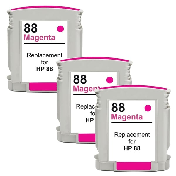 HP 88XL (C9392AN) Magenta Compatible High Yield Ink Cartridge (Pack of 3)
