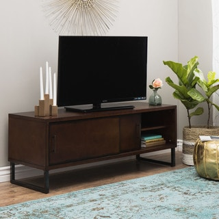 54-inch Breckenridge Walnut Entertainment Center