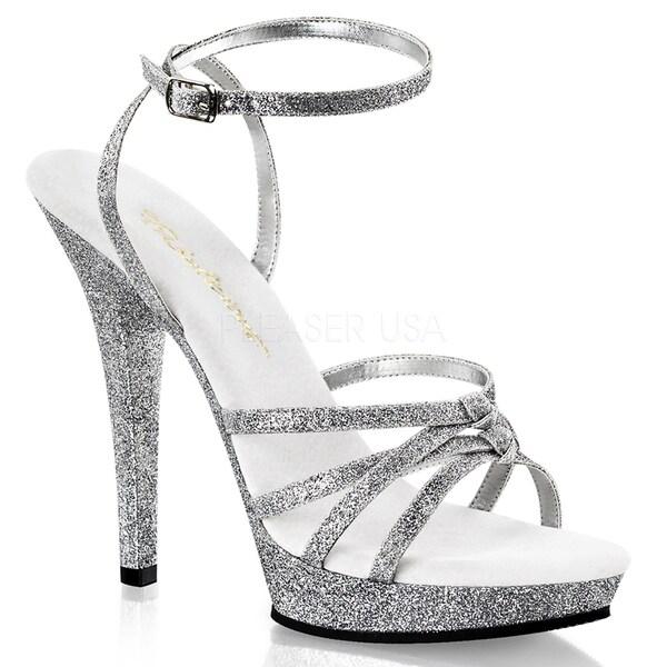 Fabulicious Women's 'Lip-128' Ankle Strap Stiletto Sandals