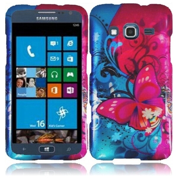 INSTEN Butterfly Bliss Phone Case Cover for Samsung Ativ S Neo