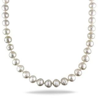 Miadora 14k Yellow Gold South Sea Baroque Pearl Necklace (8.5-10 mm)