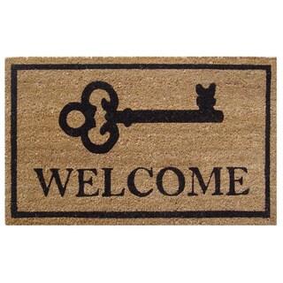 Big Key Welcome Doormat