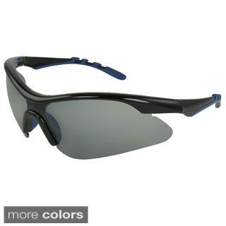 Epic Eyewear Men's 'Boxwood' Shield Sunglasses
