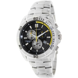 Citizen Men's Chronograph Stainless Steel Quartz Watch