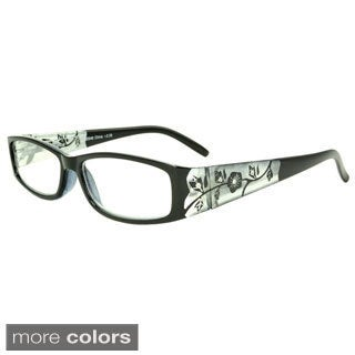 Epic Eyewear Women's 'Springwood' Rectangular Reading Glasses (+3.00)