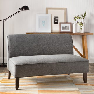 Sadie Granite Upholstery Slipper Loveseat