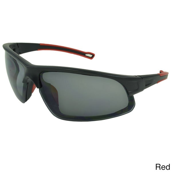 Epic Eyewear Men's 'Lawnwood' Wrap-around Sport Sunglasses