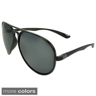 Epic Eyewear Men's 'Clintwood' Plastic Aviator Sunglasses