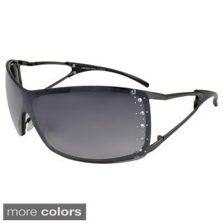 Apopo Eyewear Womens' 'St. Lucia' Shield Sunglasses