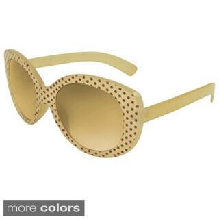 Apopo Eyewear Women's 'St. Lucy' Oval Sunglasses