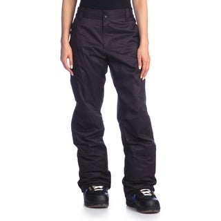 Rawik Women's 'Zephyr' Black Cargo Snow Pants