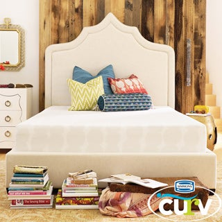 Simmons Curv Nap Time 9-inch Plush Firm California King-size Gel Memory Foam Mattress