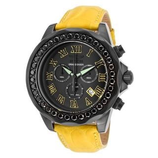 Invicta Men's 'Grand Diver' Stainless Steel Watch