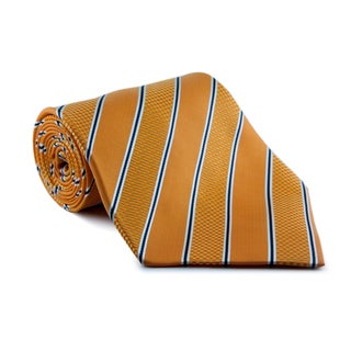 Phatties 'Orange Zest' Neon 5-inch Wide Neck Tie