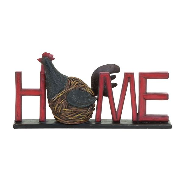 Hen 'Home' Sign