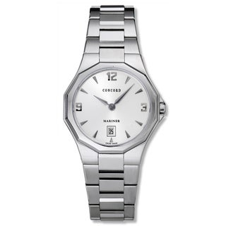 Concord Women's 'Mariner' Stainless Steel Swiss Quartz Watch