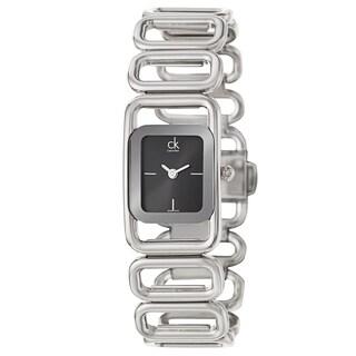 Calvin Klein Women's 'Modern' Stainless Steel Swiss Quartz Watch