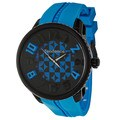 Tendence Men's 'Gulliver Hydrogen' Blue Polycarbonate and Stainless Steel Quartz Watch