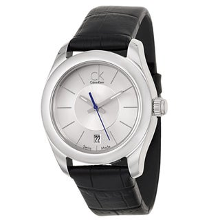 Calvin Klein Women's 'Strive' Stainless Steel Swiss Quartz Watch