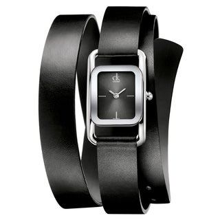 Calvin Klein Women's 'Modern' Stainless Steel Swiss Quartz Watch