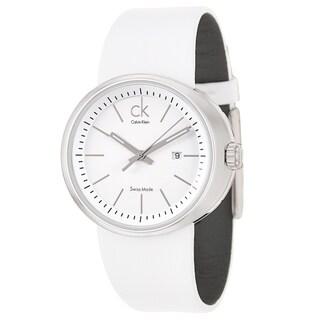 Calvin Klein Women's 'Trust' Stainless Steel Swiss Quartz Watch