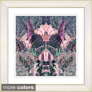 Studio Works Modern 'Cabbage Orchid Flower' Framed Art Print