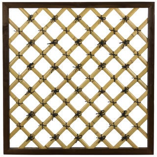 Traditional Bamboo Trellis (China)