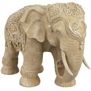 Standing Elephant 20-inch Statue (China)