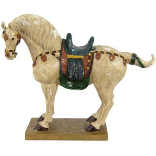 Tang Dynasty 16-inch Horse Statue (China)