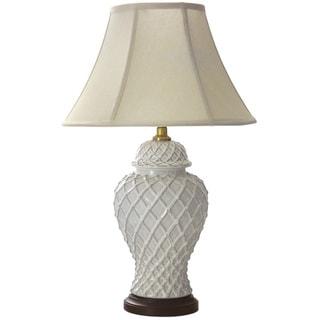 23-inch Classic Temple Jar Lamp (China)