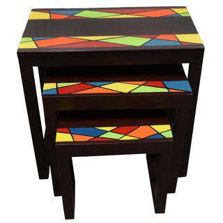 Ahomka Nested Table Set (Ghana)