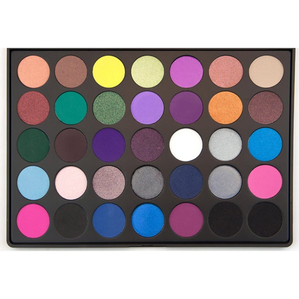 Morphe 35-Color Smoky Eye Shadow Palette