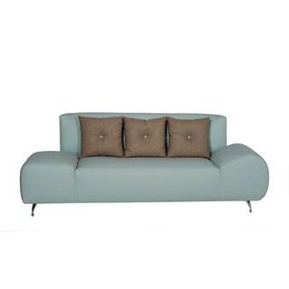 Colette Light Blue Sofa