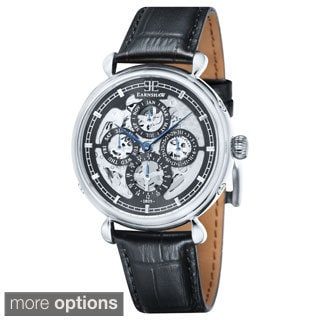 Earnshaw Men's Grand Calendar Stainless Steel Watch