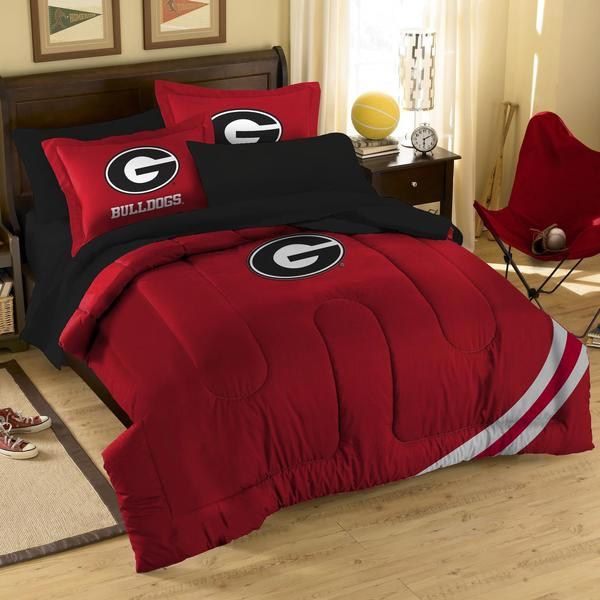 Georgia bulldogs 10 piece dorm room in a box 15929989 for Georgia bulldog bedroom ideas