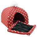 Ikat Red Dot Pet Bed House