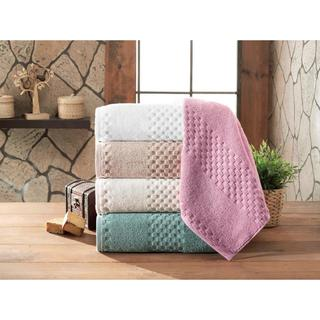 Fairfield Luxury Jacquard Turkish Cotton 2-piece Bath Sheet Set