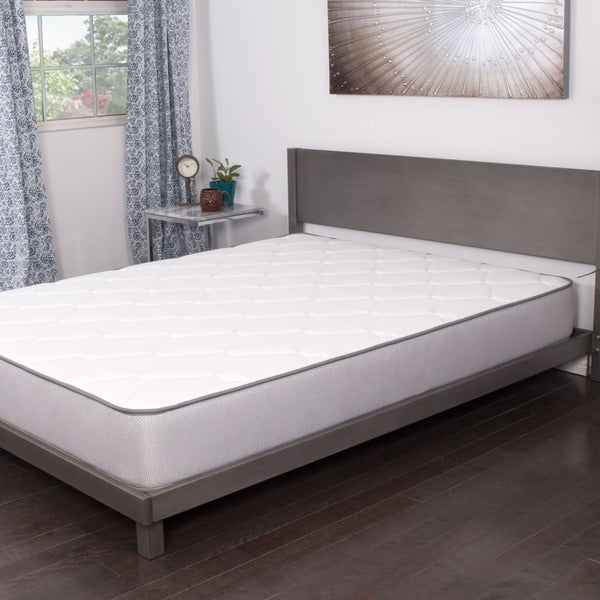 NuForm 9-inch Twin-size Firm Memory Foam Mattress with 2 Bonus Memory Foam Pillows