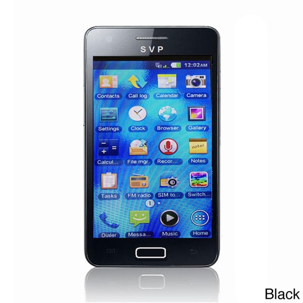 SVP Unlocked 5-inch Dual SIM Camera Touch Cell Phone