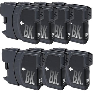 Brother LC61 Remanufactured Compatible Black Ink Cartridge (Pack of 7)