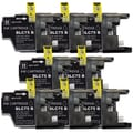 Brother LC75 Remanufactured Compatible Black Ink Cartridge (Pack of 7)