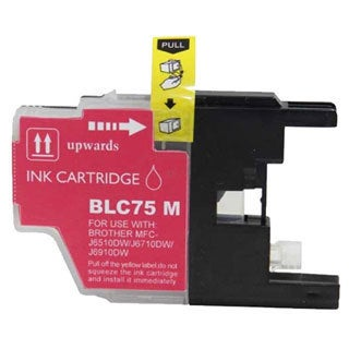 Brother LC75 Magenta Compatible Ink Cartridge (Remanufactured)