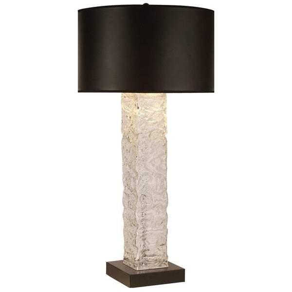 Apex Black Table Lamp