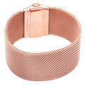 18-karat rose gold plated Mesh Bracelet