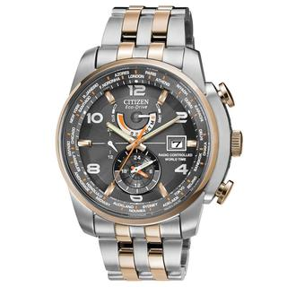 Citizen Men's 'AT9016-56H World Time A-T Eco-Drive' 26 Time Zones Watch